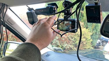 Dash cam testing