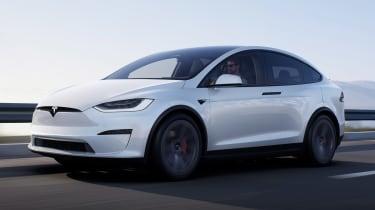 Tesla Model X facelift - front