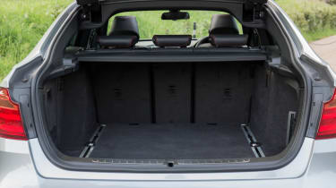 The boot is bigger even than the 3-Series Touring, at 520 litres.