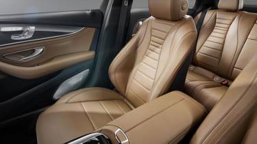 Mercedes E-Class 2016 seats
