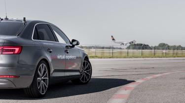 Audi Virtual Training Car rear