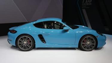 Porsche 718 Cayman - Beijing Show - side