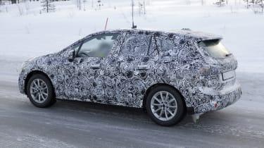 BMW 2 Series Tourer spy - side