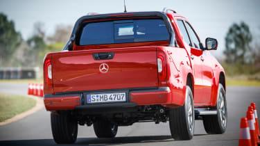 Mercedes X-Class pick-up truck - rear