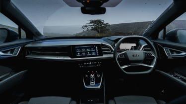 Audi Q4 e-tron 2021  cabin