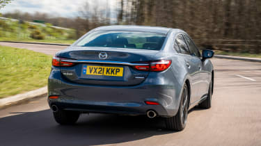 Mazda 6 Kuro Edition - rear action