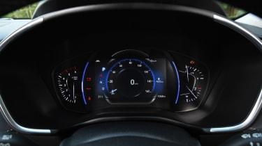 Hyundai Santa Fe - dials