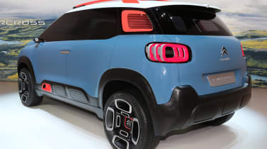 Citroen C-Aircross Concept 2017 - Geneva rear quarter