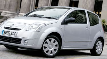 Side view of Citroen C2 Stop & Start
