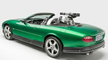 Petersen Automotive Museum - Jaguar XKR James Bond - rear static