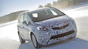 New Vauxhall Zafira front
