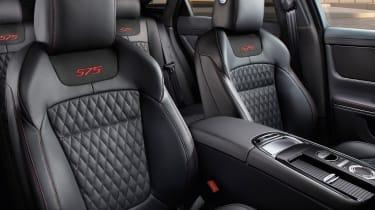2017 Jaguar XJ facelift - front seats