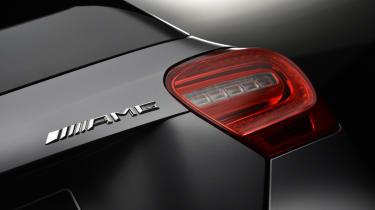 Mercedes A45 AMG rear light
