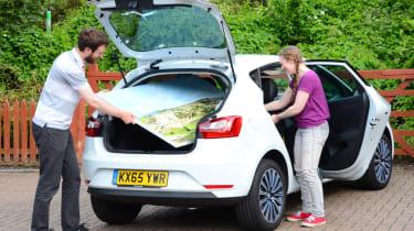 SEAT Ibiza long-term - second report header