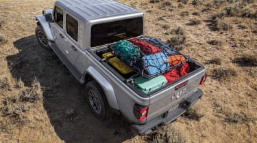 Jeep Gladiator rear quarter high angle static