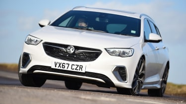 Vauxhall Insignia Sports Tourer GSi - front action