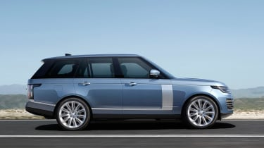 Updated Range Rover - side