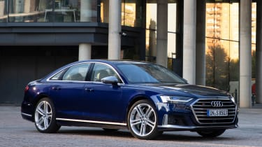Audi S8 - front static