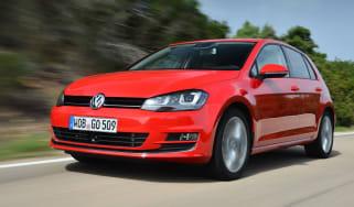 Volkswagen Golf Mk7 front action