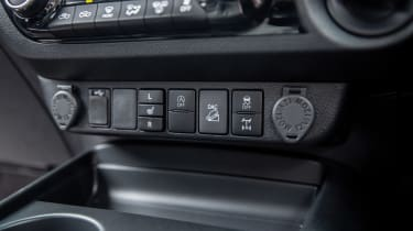 Toyota Hilux - interior detail