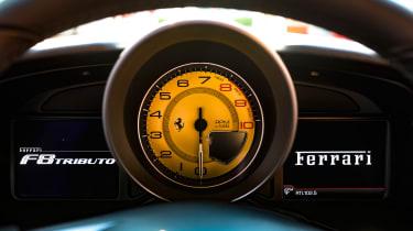 Ferrari F8 Tributo - interior detail