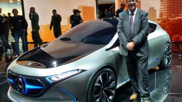 Frankfurt Motor Show 2017 - Mercedes Concept EQA