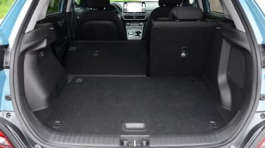 Hyundai Kona electric luggage space