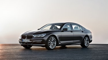 New 2015 BMW 7-Series front side