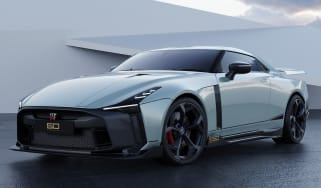 Nissan GT-R50 by Italdesign - grey front 3/4 static