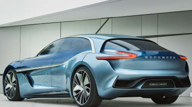 Borgward Isabella concept - rear static