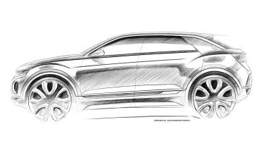 VW T-ROC sketch
