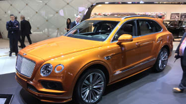 Bentley Bentayga Speed front