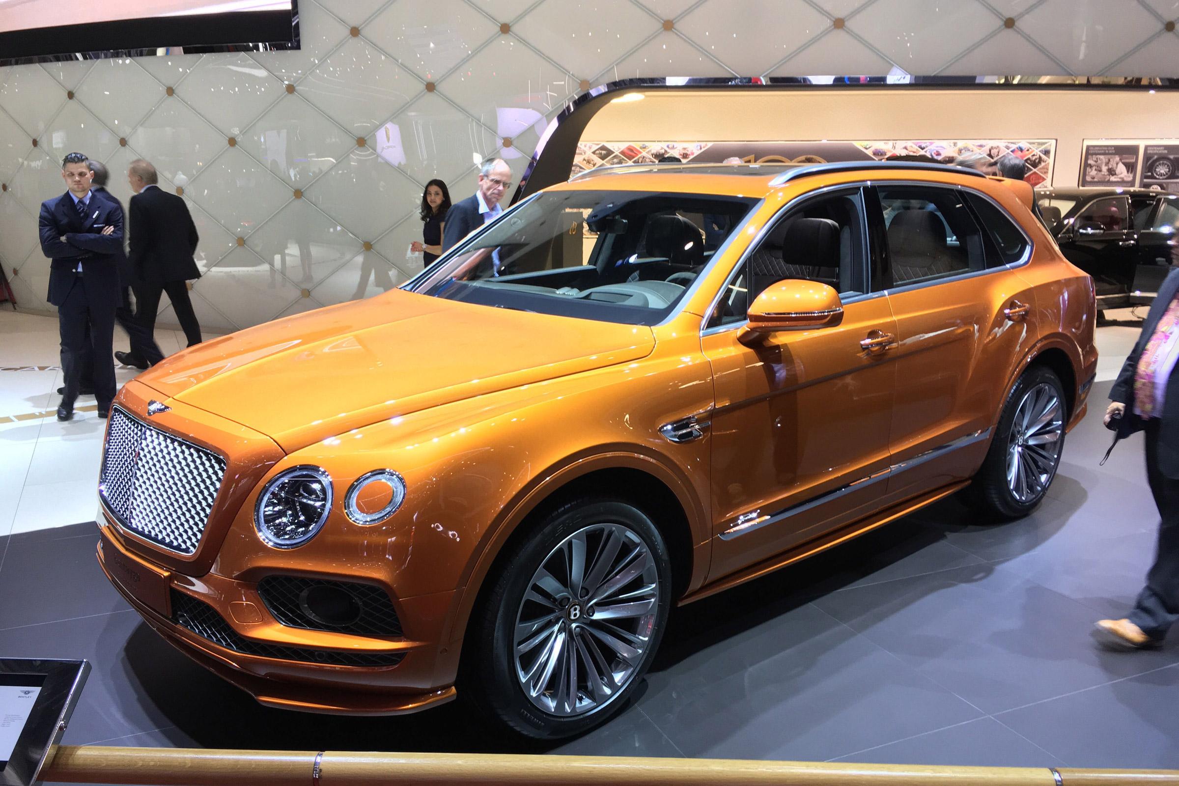 Autoexpress Co Uk On Flipboard Bentley Bentayga Speed World S Fastest Suv Shown In Geneva Auto Express