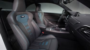 New BMW M2 Competition Pack - front seats