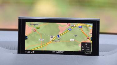 Audi Q7 e-tron - sat-nav