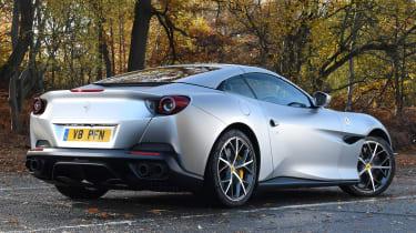 Ferrari Portofino - rear static roof up
