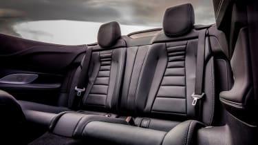 Mercedes E-Class Cabriolet - rear seats