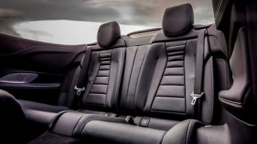 Mercedes E-Class Cabriolet - rear seats