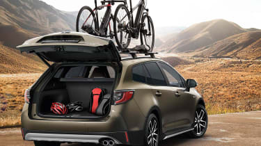 Toyota Corolla TREK - rear 3/4 static