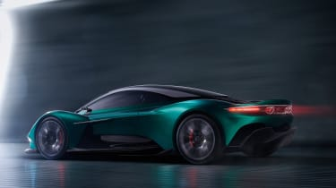 Aston Martin Vanquish Vision concept - rear action