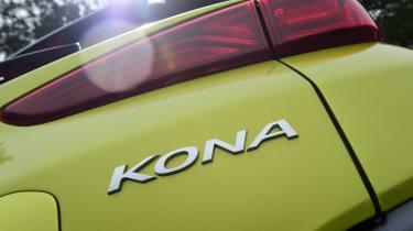 Hyundai Kona Diesel - Kona badge