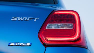 Suzuki Swift Allgrip - rear light detail