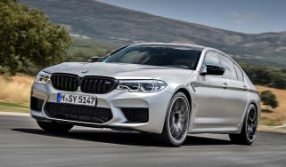 BMW M5 Competition - front