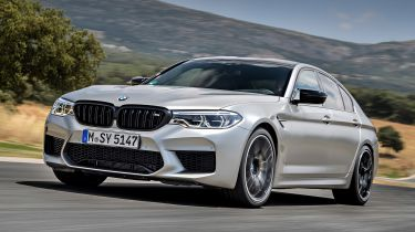 BMW M5 Competition - best performance cars