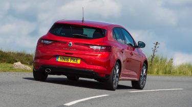 Renault Megane diesel - rear action