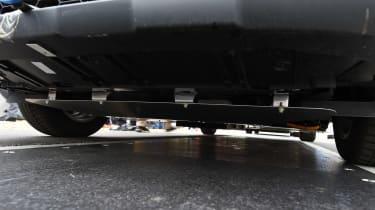 Renault Kangoo wireless charging underneath