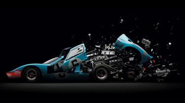 Fabian Oefner Disintegrating 06 - Ford GT40