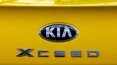Kia XCeed - XCeed badge