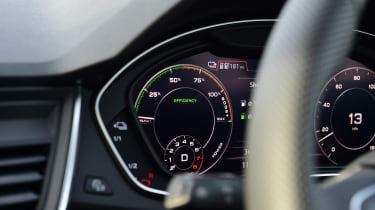Audi Q5 PHEV long-termer - first report dials
