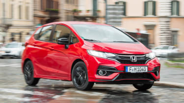 Honda Jazz - front city